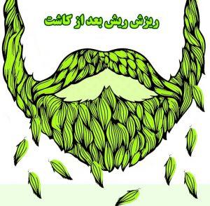 ریزش ریش بعد از کاشت مو